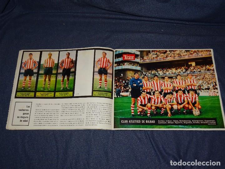 Coleccionismo deportivo: ALBUM FUTBOLITICO 1967 / 1968 EL ALCAZAR, MADRID - FALTAN 14 CROMOS, SEÑALES DE USO NORMALES - Foto 17 - 274207553