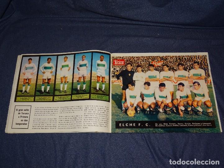 Coleccionismo deportivo: ALBUM FUTBOLITICO 1967 / 1968 EL ALCAZAR, MADRID - FALTAN 14 CROMOS, SEÑALES DE USO NORMALES - Foto 21 - 274207553