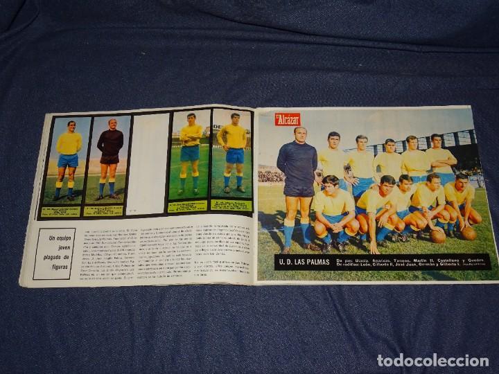 Coleccionismo deportivo: ALBUM FUTBOLITICO 1967 / 1968 EL ALCAZAR, MADRID - FALTAN 14 CROMOS, SEÑALES DE USO NORMALES - Foto 25 - 274207553