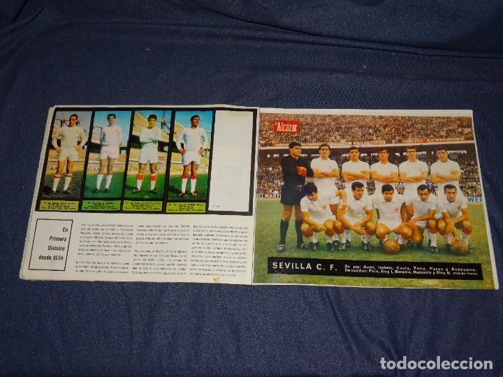 Coleccionismo deportivo: ALBUM FUTBOLITICO 1967 / 1968 EL ALCAZAR, MADRID - FALTAN 14 CROMOS, SEÑALES DE USO NORMALES - Foto 29 - 274207553