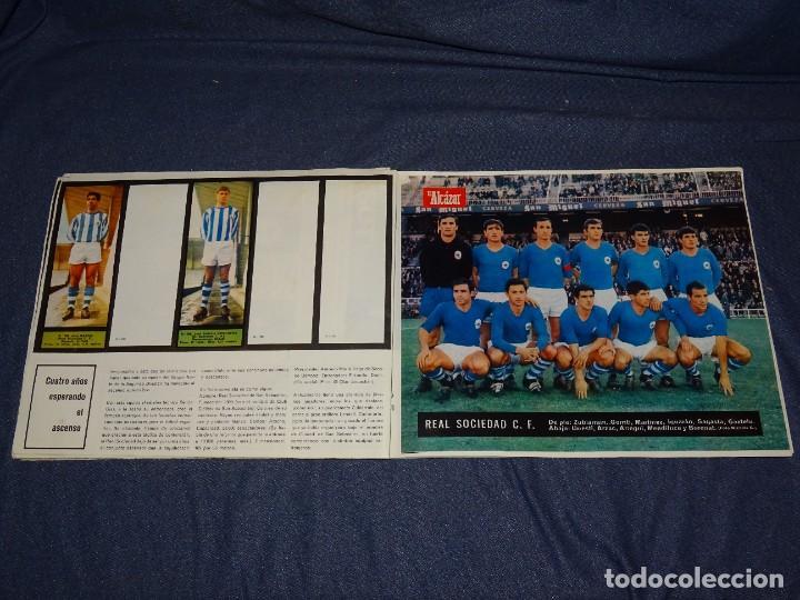 Coleccionismo deportivo: ALBUM FUTBOLITICO 1967 / 1968 EL ALCAZAR, MADRID - FALTAN 14 CROMOS, SEÑALES DE USO NORMALES - Foto 31 - 274207553