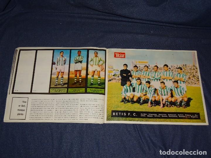 Coleccionismo deportivo: ALBUM FUTBOLITICO 1967 / 1968 EL ALCAZAR, MADRID - FALTAN 14 CROMOS, SEÑALES DE USO NORMALES - Foto 35 - 274207553