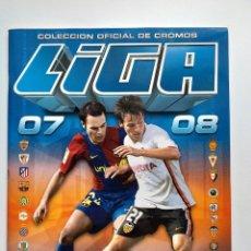 Coleccionismo deportivo: ALBUM ESTE LIGA 2007 - 2008 ( 07/08 ) ALBUM PLANCHA NUEVO. Lote 274402013