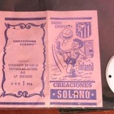 Collectionnisme sportif: 10.156 SOBRE ABIERTO, ESCUDO DE CHAPA, CORUÑA, TEMPORADA 1971-72. Lote 275953718