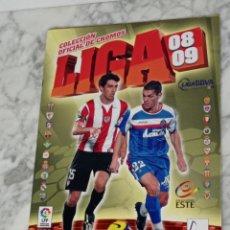 Coleccionismo deportivo: ALBUM 08-09 INCOMPLETO POCOS CROMOS. Lote 276225608