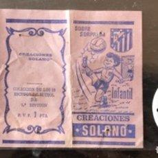 Collectionnisme sportif: 10.156 SOBRE ABIERTO, ESCUDO DE CHAPA, CORDOBA, TEMPORADA 1971-72. Lote 276565408