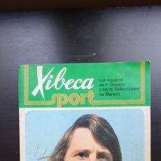 Coleccionismo deportivo: ALBUM DE CROMOS XIBECA SPORT LOS EQUIPOS DE 1⁰ DIVISIO Y LAS 16 SELECCIONES DE MUNICH. Lote 276727058