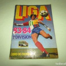 Collectionnisme sportif: ANTIGUO ÁLBUM DE FUTBOL LIGA 1983 - 1984 DE EDICIONES ESTE. Lote 277030888