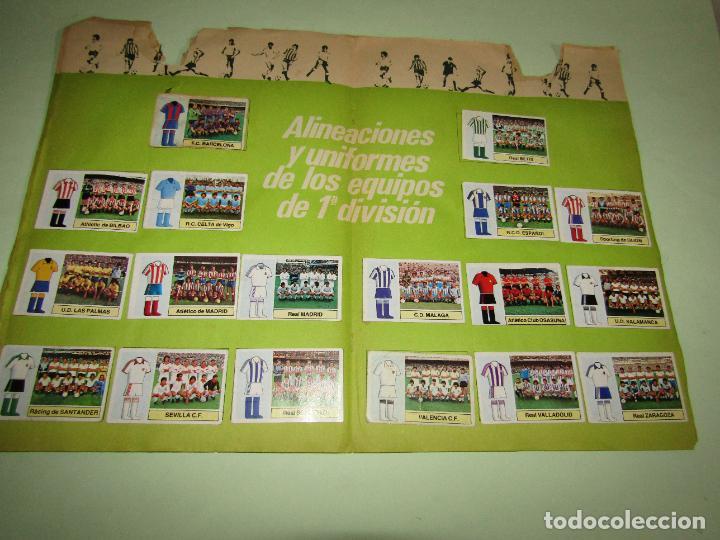 Coleccionismo deportivo: Antiguo Álbum de Futbol LIGA 1982 - 1983 de Ediciones ESTE con Fichaje Maradona - Foto 7 - 277043373