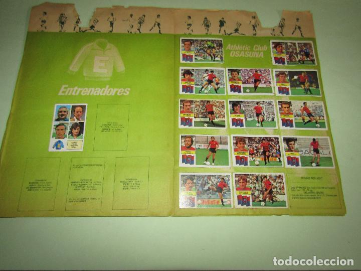Coleccionismo deportivo: Antiguo Álbum de Futbol LIGA 1982 - 1983 de Ediciones ESTE con Fichaje Maradona - Foto 8 - 277043373