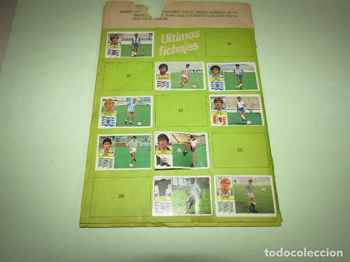 Coleccionismo deportivo: Antiguo Álbum de Futbol LIGA 1982 - 1983 de Ediciones ESTE con Fichaje Maradona - Foto 11 - 277043373