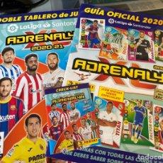 Coleccionismo deportivo: ADRENALYN XL 2020-2021 TABLERO+GUIA+CHECK-LIST. Lote 277119498