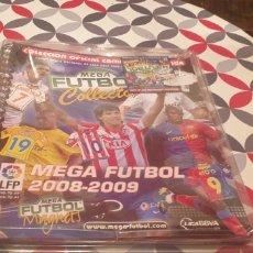 Coleccionismo deportivo: ARCHIVADOR EN SU BLISTER SIN ABRIR MEGA FUTBOL COLLECTOR MEGA FUTBOL 2008 2009 08 09. Lote 277666278