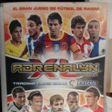 Coleccionismo deportivo: ALBUM ARCHIVADOR ADRENALYN 2010-2011 10-11 CONTIENE 486 FICHAS. Lote 277696623