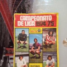 Coleccionismo deportivo: ESTE 74 75 ALBUM CROMO FUTBOL LIGA 1974 1975 - VACIO CROMOS DESPEGADOS. Lote 277707928