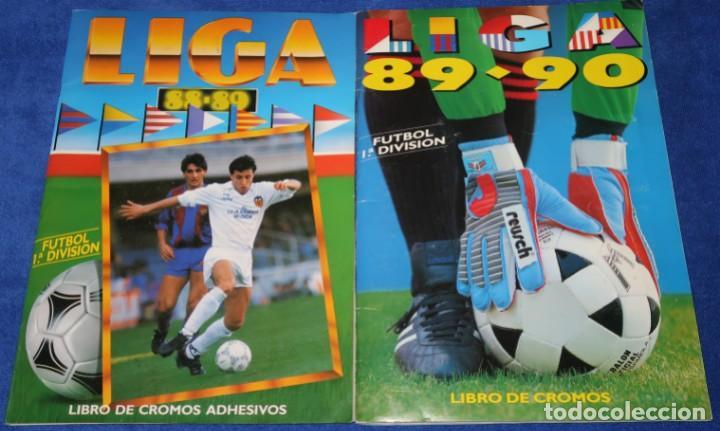 LIGA ESTE 88 89/ 89 90 ¡MUY BUEN ESTADO! (Coleccionismo Deportivo - Álbumes y Cromos de Deportes - Álbumes de Fútbol Incompletos)