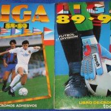 Coleccionismo deportivo: LIGA ESTE 88 89/ 89 90 ¡MUY BUEN ESTADO!. Lote 278416583