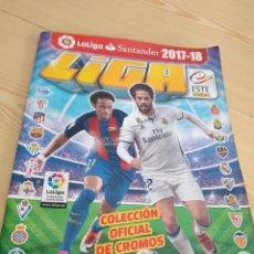 Coleccionismo deportivo: M-26 ALBUM DE FUTBOL COLECCIONES ESTE PANINI LFP 2017 2018 17 18 VER FOTOS PARA ESTADO Y CROMOS. Lote 278575693