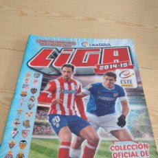 Coleccionismo deportivo: M-26 ALBUM DE FUTBOL COLECCIONES ESTE PANINI LFP 2014 2015 14 15 VER FOTOS PARA ESTADO Y CROMOS. Lote 278575958