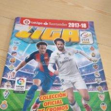 Coleccionismo deportivo: M-26 ALBUM DE FUTBOL COLECCIONES ESTE PANINI LFP 2017 2018 17 18 VER FOTOS PARA ESTADO Y CROMOS. Lote 278576223