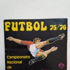 Coleccionismo deportivo: ÁLBUM DE FÚTBOL 75/76, CAMPEONATO NACIONAL DE LIGA, EDICIONES VULCANO, INCOMPLETO(FALTAN 129 CROMOS). Lote 278638178