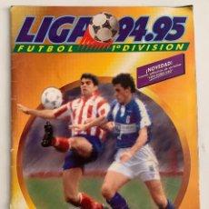 Coleccionismo deportivo: ÁLBUM DE CROMOS DE FÚTBOL DE LA LIGA 94-95 EDICIÓNES ESTE. Lote 279555388