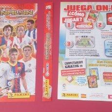 Coleccionismo deportivo: PORTADAS, LOMERA, TABLERO DE JUEGO, GUÍA OFICIAL Y CHECK-LIST ADRENALYN XL 13-14. Lote 283274093