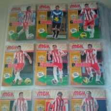 Collezionismo sportivo: LOTE MEGACRACKS 2013 2014 DE 391 CARDS. MESSI 72, NEYMAR 306, RONALDO 216. BIS, NUEVOS FICHAJES. Lote 284732613
