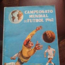 Collezionismo sportivo: CAMPEONATO MUNDIAL DE FUTBOL CHILE 1962 (LEER BIEN LA DESCRIPCIÓN). Lote 285223073