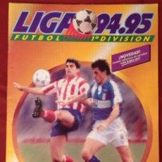 Collezionismo sportivo: ALBUM CROMOS VACIO PLANCHA NUEVO EDICIONES ESTE LIGA 94 95 1994 1995 FUTBOL ESTADO EXCELENTE. Lote 285284343