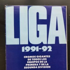 Collezionismo sportivo: ÁLBUM CROMOS FÚTBOL LIGA 1991-1992 DIARIO AS 91-92 60% COMPLETO. Lote 287022463