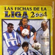 Coleccionismo deportivo: LAS FICHAS DE LA LIGA 2004. MUNDICROMO / FALTAN 110 FICHAS EN 74 HOJAS -INCOMPLETO. Lote 287433428