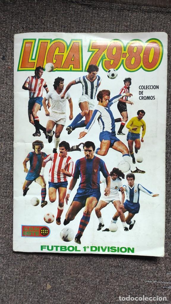 ALBUM CAMPEONATO DE LIGA 79 80 1979 1980 ESTE (Coleccionismo Deportivo - Álbumes y Cromos de Deportes - Álbumes de Fútbol Incompletos)