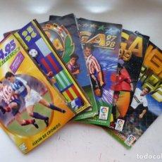 Collezionismo sportivo: 6 ALBUMES FUTBOL, ED. ESTE - 1994-1995 1995-1996 1996-1997 1997-1998 1998-1999 2002-2003. Lote 287676198