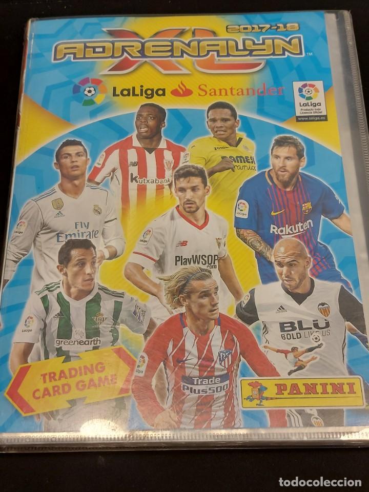 Coleccionismo deportivo: ADRENALYN XL / 2017-18 / ÁLBUM CON 398 TRADING CARDS / NUEVOS. - Foto 2 - 288009283
