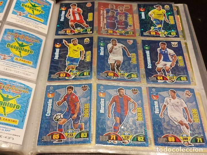 Coleccionismo deportivo: ADRENALYN XL / 2017-18 / ÁLBUM CON 398 TRADING CARDS / NUEVOS. - Foto 11 - 288009283