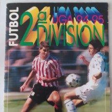 Coleccionismo deportivo: ALBUM SEGUNDA DIVISIÓN 94 95 ESTE. Lote 288009628