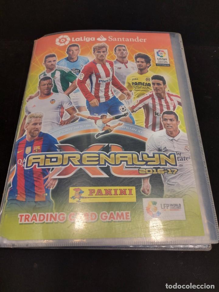 Coleccionismo deportivo: ADRENALYN XL / 2016-17 / ÁLBUM CON 402 TRADING CARDS / NUEVOS. - Foto 2 - 288062133