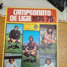 Coleccionismo deportivo: ALBUM CROMOS FUTBOL LIGA 74-75 CHICLE SANBER FALTA 1 CROMO. Lote 288217893