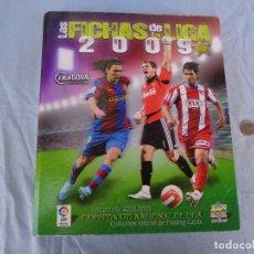 Coleccionismo deportivo: ALBUM LAS FICHAS DE LA LIGA 2009. CON 650 CROMOS.. Lote 288300183
