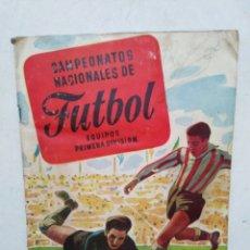 Coleccionismo deportivo: ALBUM FÚTBOL,CAMPEONATOS NACIONALES DE FÚTBOL, EQUIPOS DE 1 DIVISIÓN, RUIZ ROMERO (1954)MUY COMPLETO. Lote 288358593