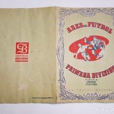 Coleccionismo deportivo: BRUGUERA - ASES DEL FUTBOL PRIMERA DIVISION - 1948 - 48 - CROMOS CULTURA - ALBUM 2 NO COMPLETO. Lote 288604453