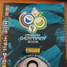 Coleccionismo deportivo: ALBUM INCOMPLETO CAMPEONATO DEL MUNDO ALEMANIA 2006 DE PANINI ( FIFA WORL CUP GERMANY 2006 ). Lote 288704603