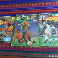 Coleccionismo deportivo: FUTBOL EN ACCIÓN 1977 78 PACOSA DOS, GOL CAMPEONATO DE LIGA 84 85 MAGA INCOMPLETO. REGALO DANONE.. Lote 293919893