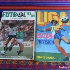 Coleccionismo deportivo: LIGA ESTE 83 84 1983 1984 ESCOBAR MARADONA, FÚTBOL 83 84 1ª DIVISIÓN CROMOS CANO INCOMPLETO.. Lote 293920803
