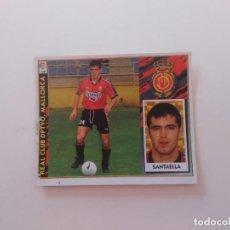 Coleccionismo deportivo: SANTAELLA MALLORCA CROMO STICKER FUTBOL EDICIONES ESTE LIGA 1997-1998 97-98. Lote 293938073