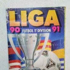 Coleccionismo deportivo: ÁLBUM DE CROMOS INCOMPLETO LIGA 90 91 FÚTBOL 1 DIVISIÓN ( FALTAN LAS PÁGINAS 21,22,23 Y 24 ). Lote 294502523