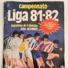 Coleccionismo deportivo: ÁLBUM DE CROMOS CAMPEONATO LIGA 81-82 EDICIÓNES ESTE. Lote 296595798