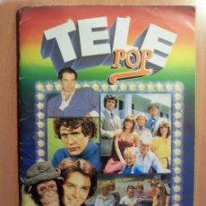 Coleccionismo Álbumes: TELE POP - EDICIONES ESTE - CON 188 DE LOS 196 CROMOS -. Lote 27124409