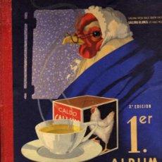 Coleccionismo Álbumes: PRIMER ALBUM GALLINA BLANCA - 3ª EDICION - CON 33 CROMOS. Lote 25325588